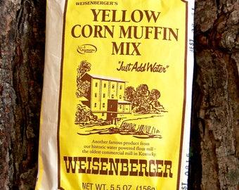 Weisenberger's Yellow Corn Muffin Mix
