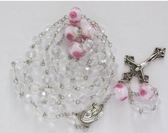 Clearance crystal Rosary