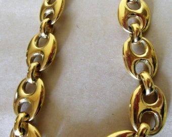 Oversized gold plated, coffee bean mothers