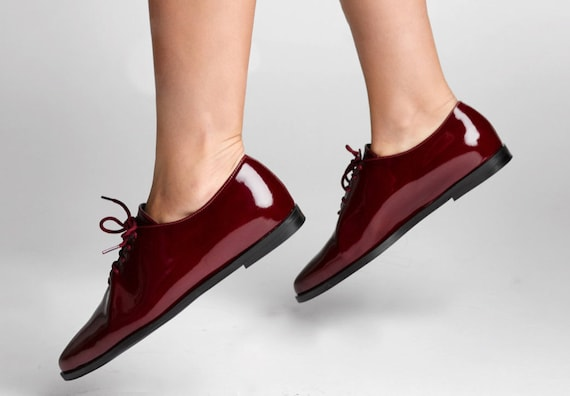 Classic Flat Shoes With Laces For Women