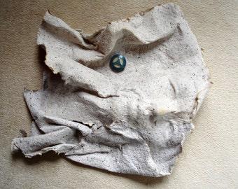 Face sculpture, handmade paper, art face, paper sculpture