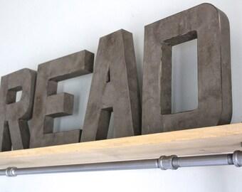 Read Sign - Read Letters - Playroom Decor - Read Decor - Kids Playroom Decor - Reading Nook - Playroom Wall Art - Playroom Sign - Play Room