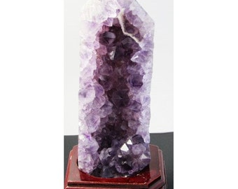Amethyst on Agate - 675g