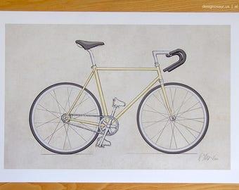 Single Speed Bicycle (13x19)