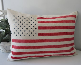 Flag Pillow Cover
