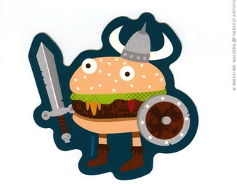 Fantasy Warburger sticker