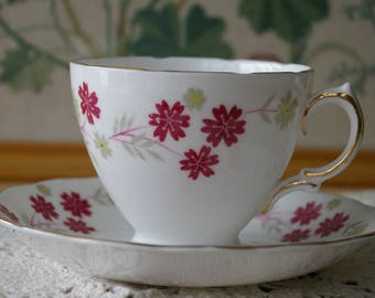 Delicate and Dainty Royal Vale Cup and Saucer Set