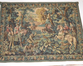Belgium Renaissance Style Woven Tapestry