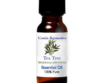 Tea Tree Essential OIl Certified Pure Grade 100% Pure choose your size