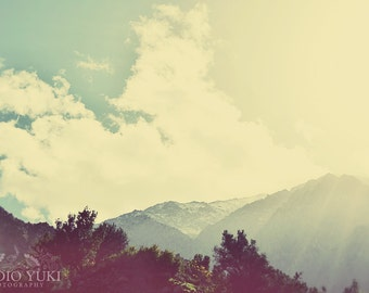 Mountain Photo, Wilderness, Landscape, Morocco, Ourika Valley, Scenic, Travel Photography, Nature Home Decor, Sky, Clouds - Take Me Home