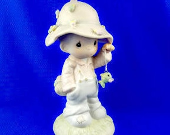 My Love Will Never Let You Go Precious Moments Figurine