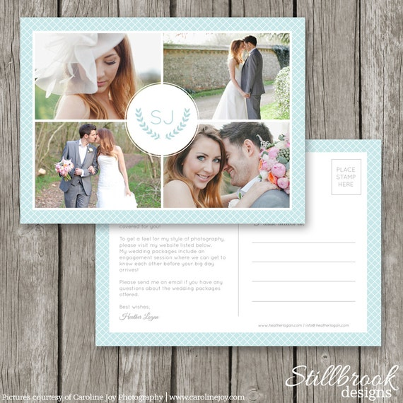 Marketing Postcard For Photographers Wedding Photography