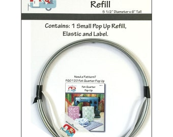 """Stacking Pop Up Small Refill - 5.5"""" Diameter, 6"""" Tall Pop Up Basket Container"""