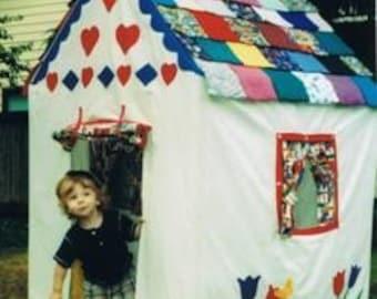 Grandma's House, the Original Toddler Playhouse Pattern