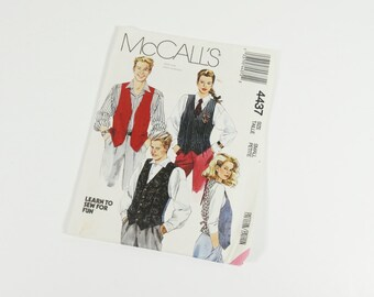 Vintage McCall's Vest Pattern