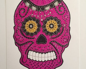 Sugar Skull #3 - Original Artwork