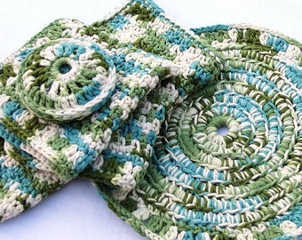 Cotton Dishcloth Set, By Artistic NeedleWork