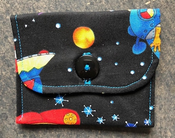 Coin Purse / Credit Card / Cash / Gift Card Wallet Pouch