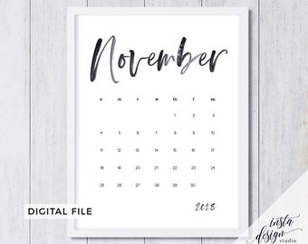 november 2018 printable pregnancy baby announcement calendar social media flat lay photo prop due date save the date digital file download