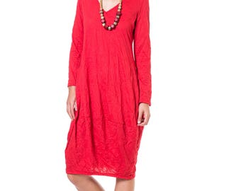 Red Midi Dress, Plus Size Party Dresses, Spring Dresses For Women, Casual Dresses, Midi Dress With Sleeves, Evening Dresses, Red Dress