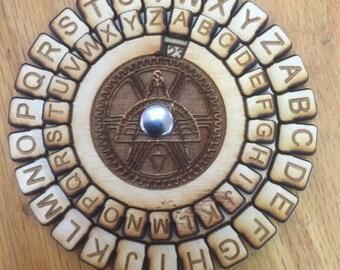 Wooden Multi-layered Secret Decoder - Free Shipping