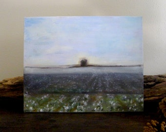 Cotton Fields Original Oil Painting