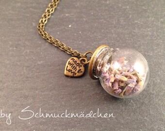 Chain bronze Lavender