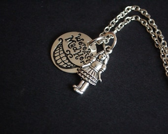 We're all made here necklace