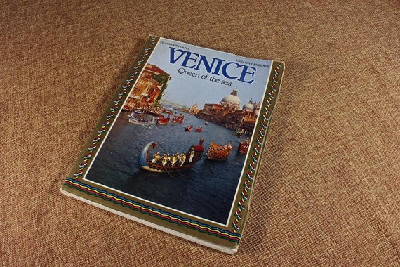 History Book, Paperback, Venice, Queen of the Sea, Map Included