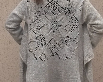 Cardigan.Elegant cardigan.Clothing gift for her  hand knitted cardigan