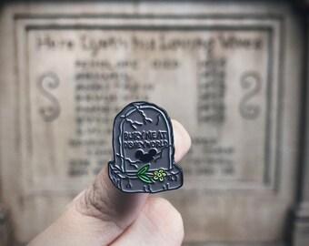 Disney Tombstone pin