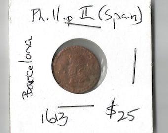 1613 phillip II spain Barcelona