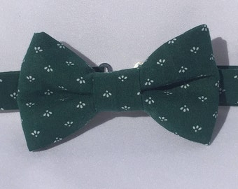 Green Bow Tie for Boys