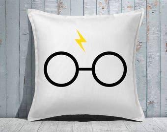 Custom Decorative Pillow | Throw Pillow | Custom Pillow | 20 x 20 Pillow Cover | Custom Pillow Cover | Personalized Pillow | Present |wizard