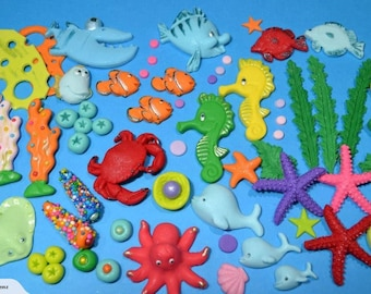 Under The sea cake topper | Cake Decoration