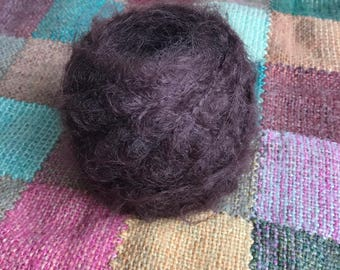 Wild Brushable Mohair, 50g, Doll hair, Brunette