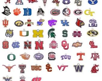 College charm, add a charm, college pendant, necklace pendant, bracelet charm