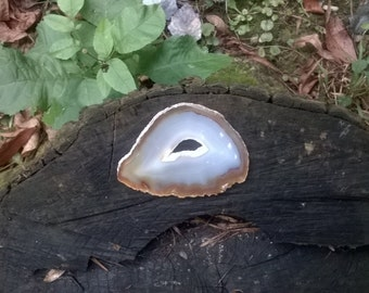 Large Agate slice, crystal slice, gemstone slice, large crystal, druzy Agate slice, geode slice, healing crystals and stones