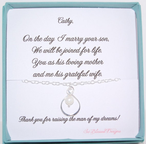 Mother In Law Gifts Wedding: Mother In Law Gift Wedding Necklace For Mother In Law