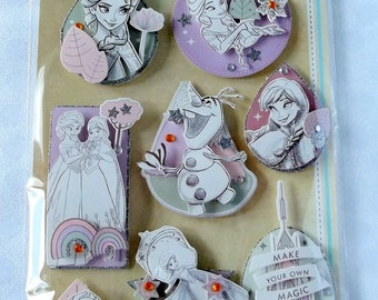 Die-cuts Disney 3D embellishment for scrapbooking, card making, crafting - frozen