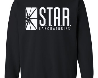 SALE - STAR Laboratories sweatshirt - Team Flash - The Flash sweatshirt - not Star lab hoodie - Star Labs sweatshirt - not Star Labs hoodie