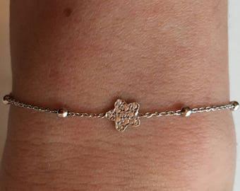 Little dainty bracelet 925 silver sterling