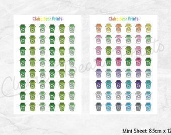 RECYCLE BIN Planner Stickers (2 options)