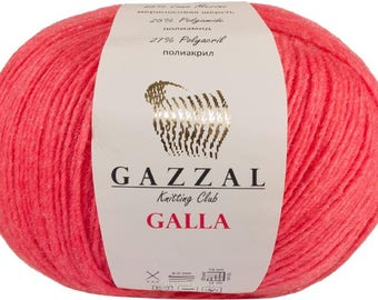 Gazzal Galla. 100 g 300 m. Merino Wool