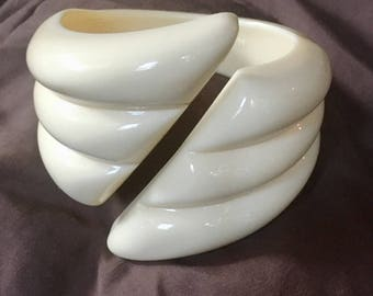 Vintage 1960's Lucite Bracelet - Made in W. Germany