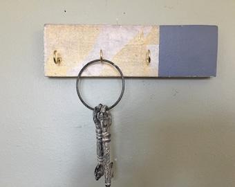 Rustic Key Hook with Chalkboard option