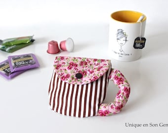The coffee pods Mug Tea time creating Unique of its kind case