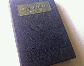 1925 The Richardson Manual