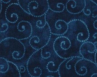 Moda Fabric Marble Swirls Stormy Sea- 9908 95  2 yards (End of Bolt)