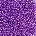 20gr Czech Glass Seed Beads Preciosa, size 11/0,Round Hole, Metallic Purple (11SB148)